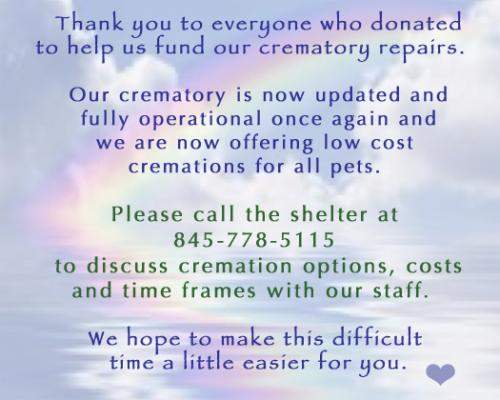 Cremation Services Available