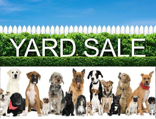 Monthly Indoor Yard Sales Benefit Animals