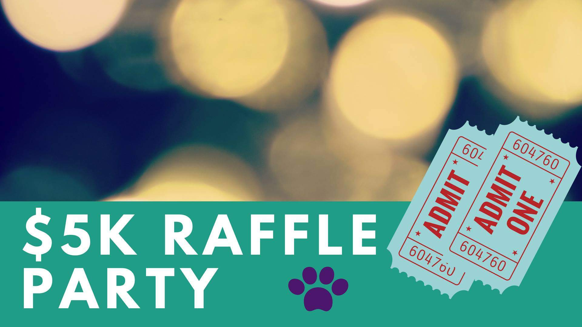 $5K Luau Raffle Party