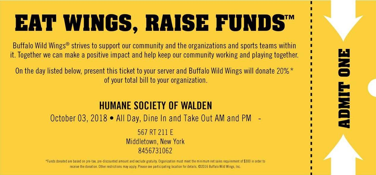 Eat Wings, Raise Funds