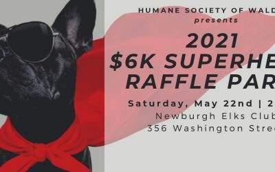 Superheros! – $6K Raffle Party