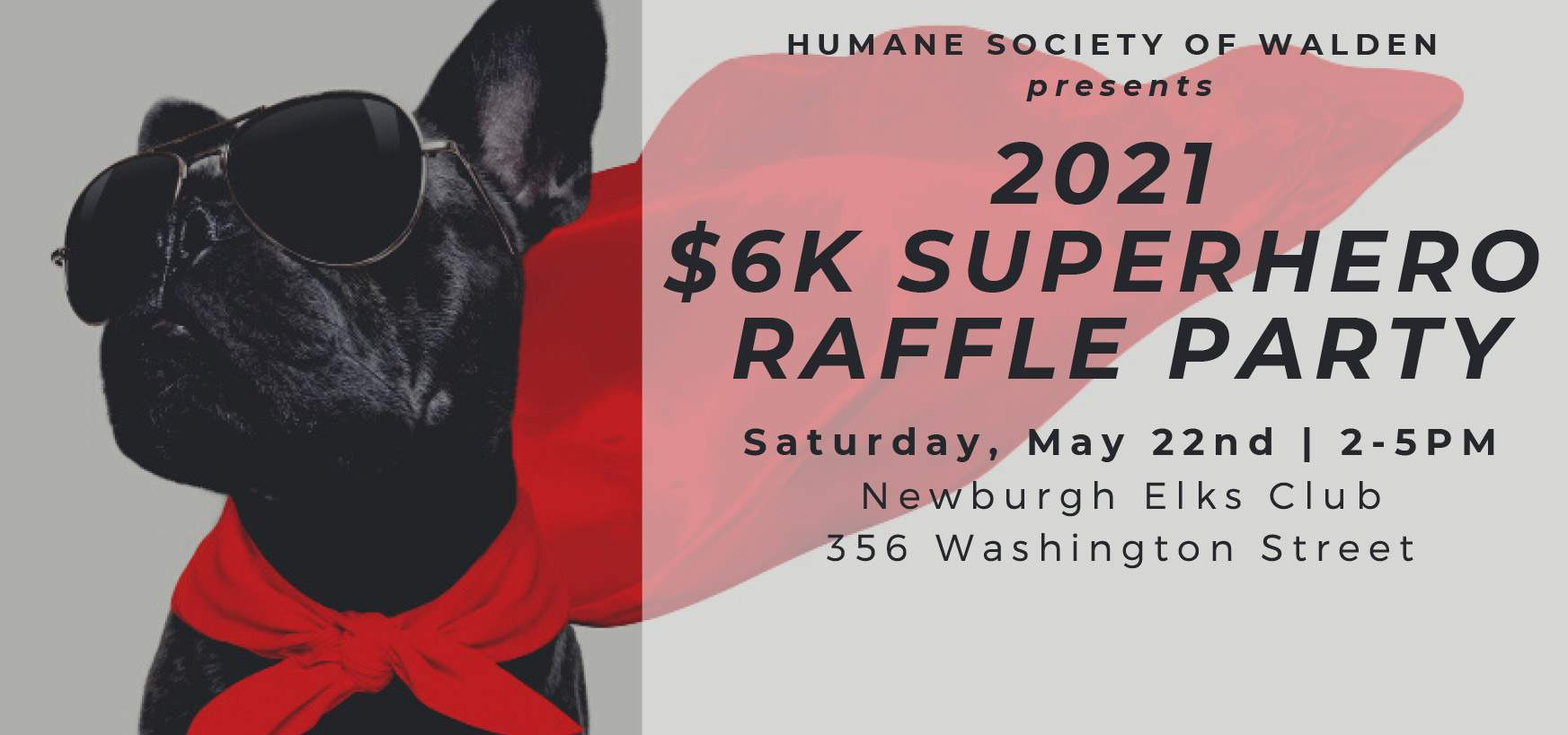 Superheros! – $6K Raffle Party